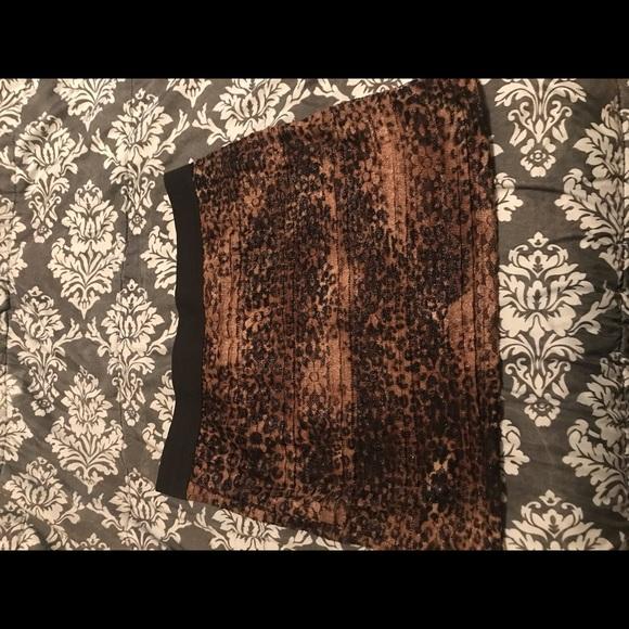 a'gaci Dresses & Skirts - Leopard mini skirt